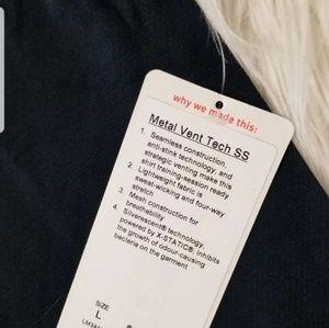 lululemon athletica Shirts - Lululemon Metal Vent Tech Short Sleeve